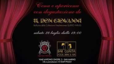 Cena e Apericena Bar Guaita San Marino